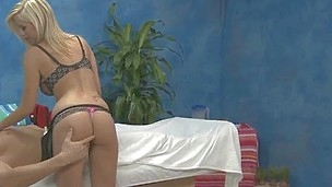 Massage therapist Britney B gives a little more than massage