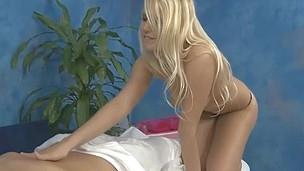 Massage therapist Vanessa gives a little more than massage!