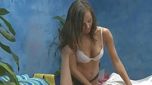 Rub-down therapist Riley Sinn gives a little more than massage!