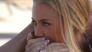 Close-up episode of dick licking