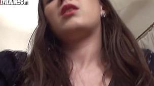 Sarah masturbates with her vibrator